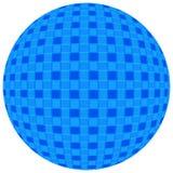 Boule bleue Photographie stock libre de droits