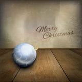 Boule bleue Photos stock