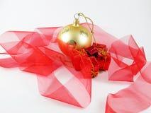 Boule d'arbre de Noël Photos stock