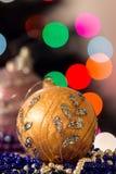 Boule d'arbre de Noël Photos libres de droits