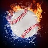 Boule de base-ball illustration libre de droits