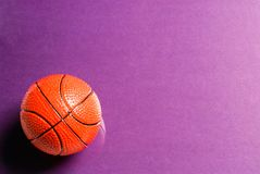 Boule de basket-ball photographie stock