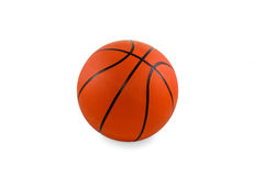 Boule de basket-ball d'isolement Images stock