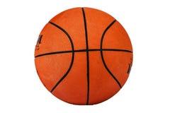 Boule de basket-ball texturisée d'isolement sur le fond blanc Basket-ball sur un fond blanc Boule pour le basket-ball Photos libres de droits