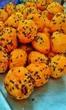 Boule de beignet Photographie stock libre de droits