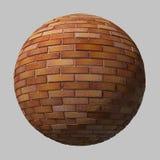Boule de brique Images stock