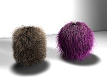 Boule de cheveux Photographie stock