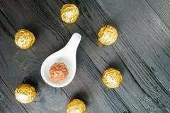 Boule de chocolat Photos libres de droits
