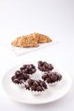 Boule de chocolat Image stock