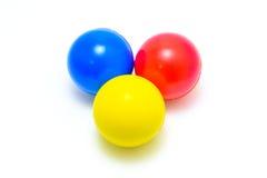 Boule de couleur photographie stock