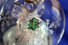 Boule de Cristmas avec l'ange Images stock