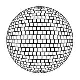 Boule de disco Photo stock