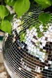 Boule de disco au club Photo stock