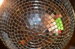 Boule de disco dans le ciel Photographie stock libre de droits