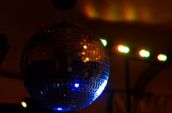 Boule de disco de partie Photos stock