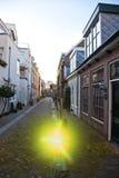 Boule de explosion sur la rue à Haarlem Photos stock