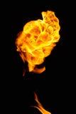 Boule de feu de vol Image libre de droits