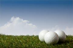 Boule de golf Photos libres de droits