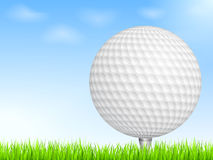 Boule de golf Images libres de droits