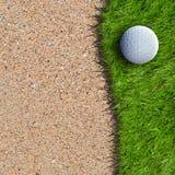 Boule de golf Images libres de droits