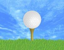 Boule de golf image stock