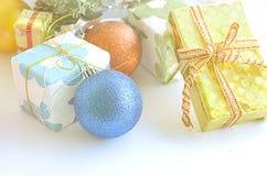 Boule de jour de Noël Image libre de droits
