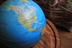 Boule de la terre, globe Photos stock