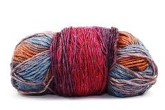 Boule de laine multicolore Photo libre de droits