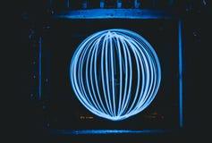 Boule de lumière image libre de droits
