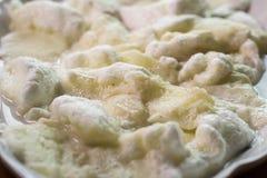 Boule de neige, gâteau de Snowball Image stock