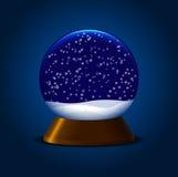 Boule de neige magique Photos libres de droits