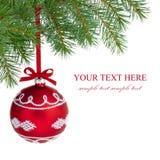 Boule de Noël. Photographie stock