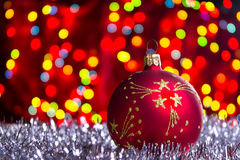 Boule de Noël Images libres de droits