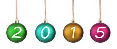 Boule 2015 de Noël Photo libre de droits