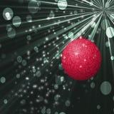 Boule de Noël avec la texture de backround Illustration Stock