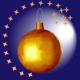 Boule de Noël illustration de vecteur