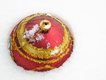 Boule de Noël - photo courante Photo stock