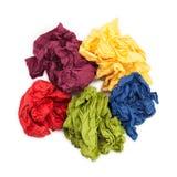 Boule de papier de serviette Image stock