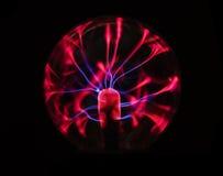 Boule de plasma de l'électricité Image libre de droits