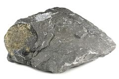 Boule de pyrite photo stock