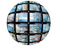 Boule de sphère Photographie stock libre de droits