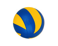 Boule de volleyball d'isolement sur le blanc Image libre de droits