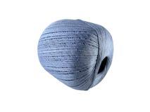 Boule des fils bleus Image libre de droits