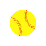 Boule du base-ball illustration de vecteur