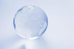 Boule en verre de globe photographie stock