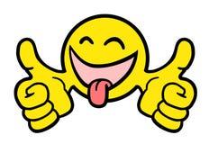 Boule heureuse Image stock