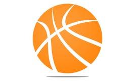 Boule Logo Design Template de panier Illustration Stock