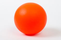Boule orange Photo libre de droits