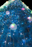 Boule ornementale de lumière électrique Photo stock