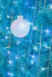 Boule ornementale de lumière électrique Image stock